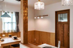秩父の新築住宅完成見学会 横瀬町ナチュラルなお家照明